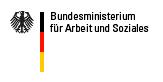 Logo: Bundesministerium für Arbeit und Soziales - öffnet Website in neuem Fenster