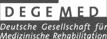 Logo: Deutsche Gesellschaft für Medizinische Rehabilitation e.V.